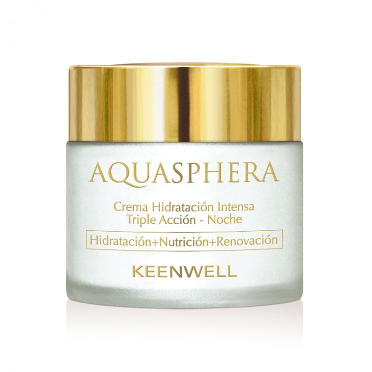 KEENWELL Aquasphera Intense Moisturizing Triple Action Cream – Night – Ночной интенсивно увлажняющий крем тройного действия