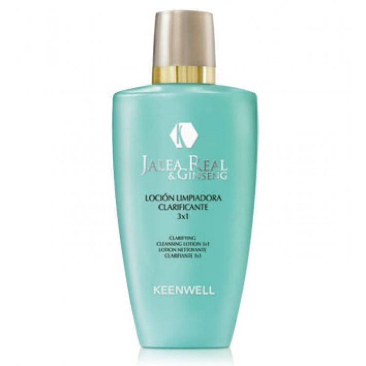 KEENWELL Jalea Real and Ginseng Locion Limpiadora Clarificante 3x1 – Очищающий лосьон 3х1