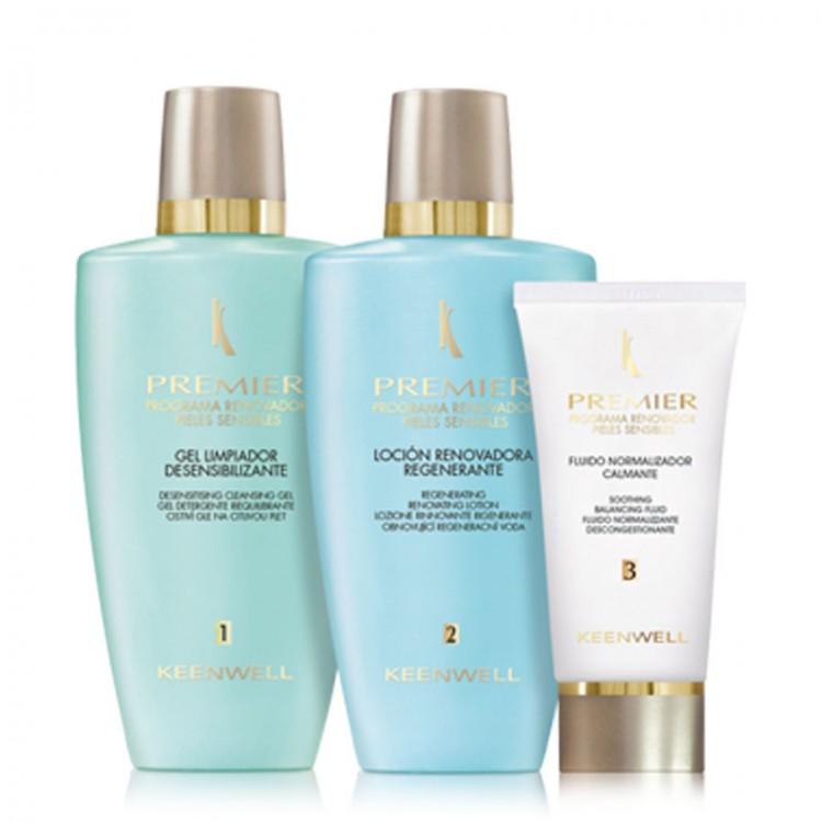 KEENWELL Premier – Programa Renovador Pieles Sensibles – Трехшаговая обновляющая программа для чувствительной кожи (домашний уход)