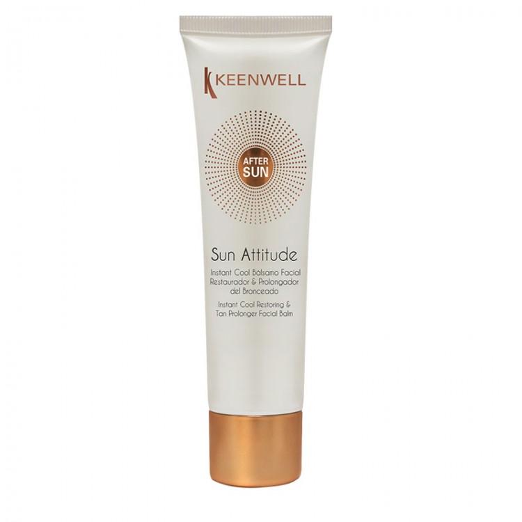 KEENWELL Sun Attitude – After Sun Instant Cool Balsamo Facial Restaurador & Prolongador del Bronceado бальзам-пролонгатор загара