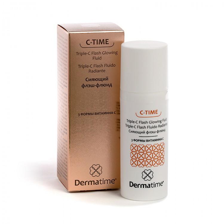 Dermatime C-TIME Triple-C Flash Glowing Fluid – Сияющий флэш-флюид / 3 формы витамина С