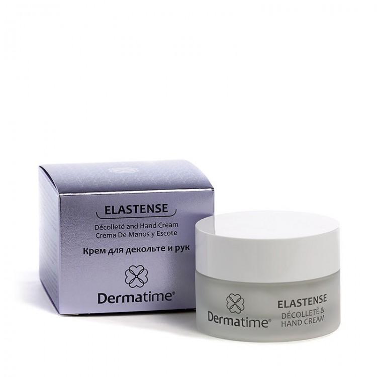 Dermatime ELASTENSE Decollete and Hand Cream – Крем для декольте и рук
