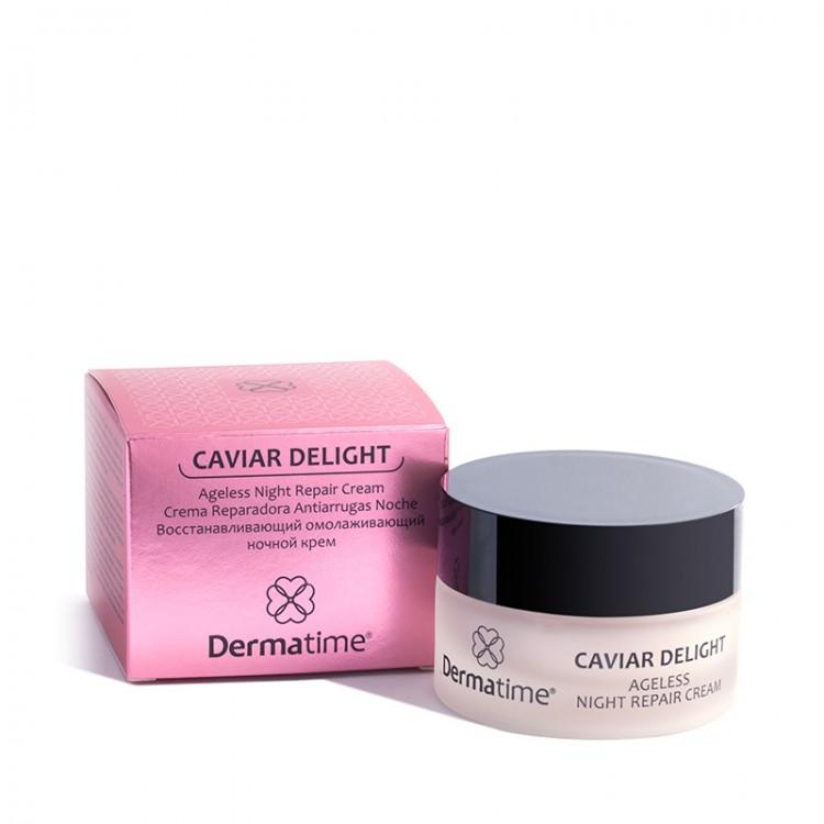 Dermatime CAVIAR DELIGHT Ageless Night Repair Cream – Восстанавливающий омолаживающий ночной крем