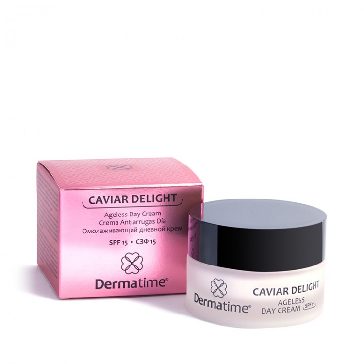 Dermatime CAVIAR DELIGHT Ageless Day Cream SPF 15 – Омолаживающий дневной крем, СЗФ15