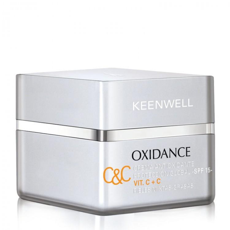 KEENWELL OXIDANCE – Crema Antioxidante Proteccion Global – SPF 15 Vit. C+C - Антиоксидантный защитный крем глобал СЗФ 15