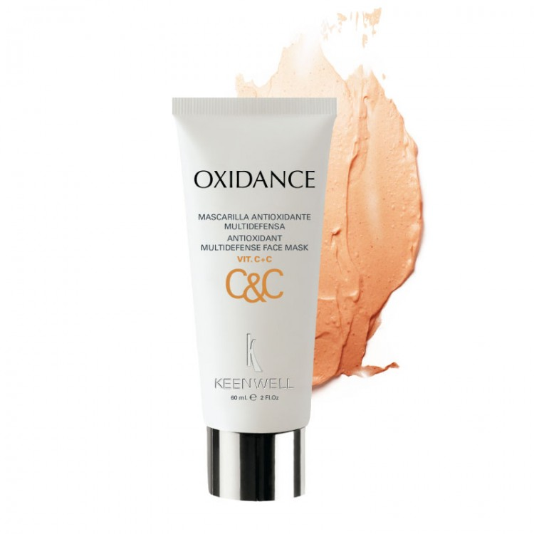KEENWELL Oxidance C&C Mascarilla Antioxidante Multidefensa Vit. C+C – Антиоксидантная мультизащитная маска с витамином С