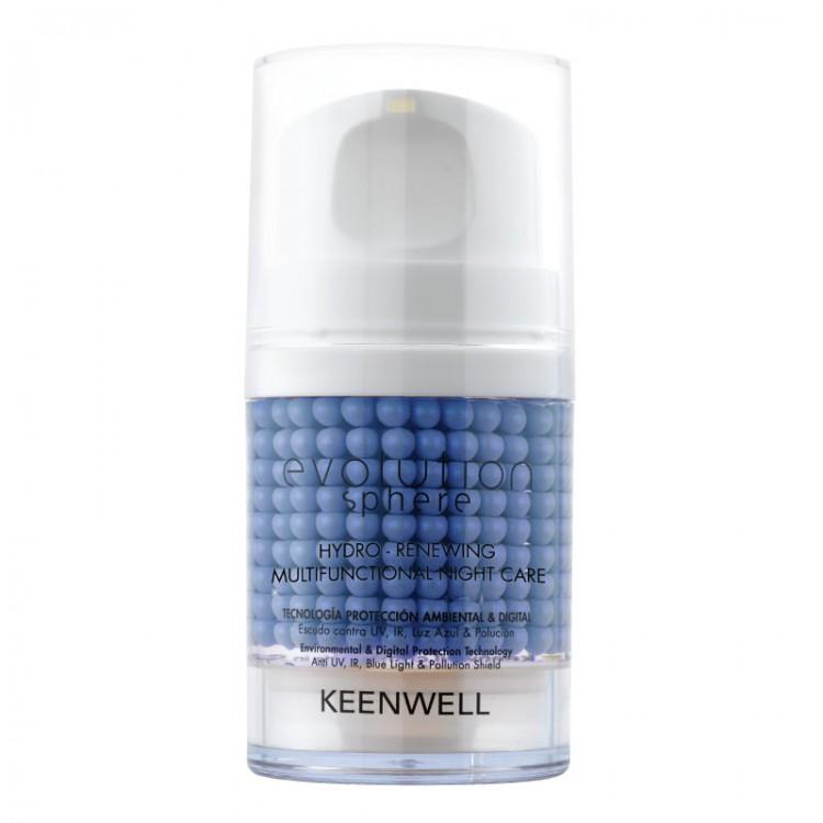 KEENWELL Evolution Sphere Hydro-Renewing Multifunctional Night Care – Увлажняющий обновляющий ночной мультифункциональный комплекс