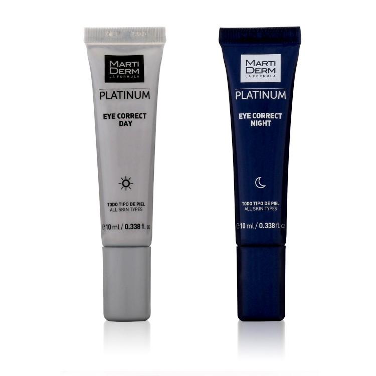 Martiderm Platinum Eye Correct против мешков и темных гругов